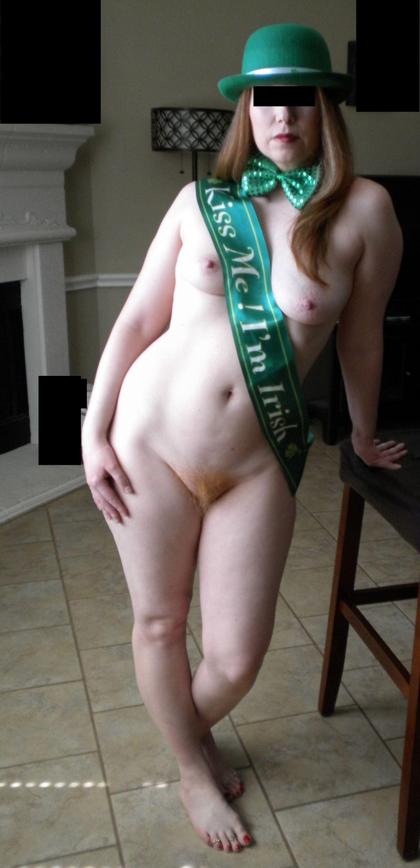 Рыжая вагина тёлки из Ирландии